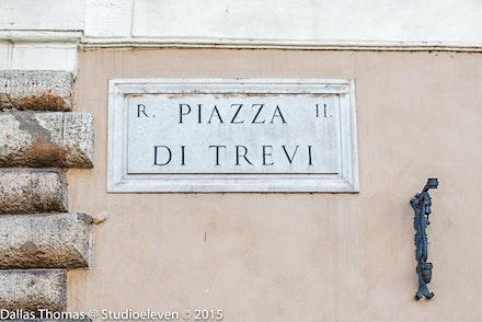 119 Rome Day 8 011215-4851-Edit - Piazza Di Trevi, Rome, Italy.