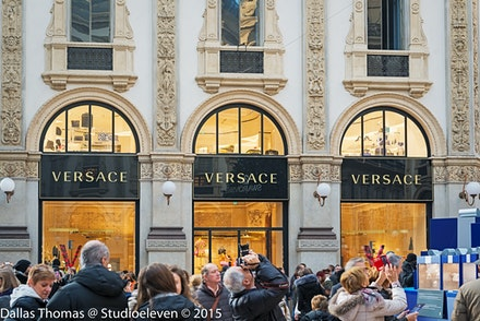 124 Milan Day 2 081215-5281-Edit - Versace, Milan, Italy.