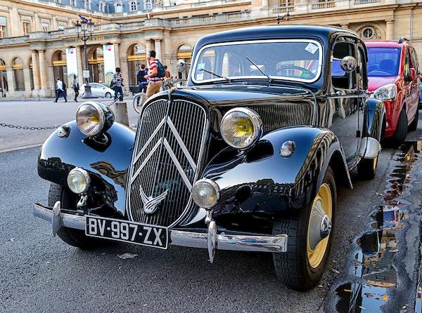 099 - Paris - 1st Louvre - 07-09-16-8713-Edit - A classic Citroen