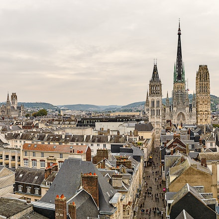 2016 - Rouen - Normandy - Rouen was formerly one of the largest and most prosperous cities of medieval Europe, Rouen was the seat of the Exchequer of Normandy...