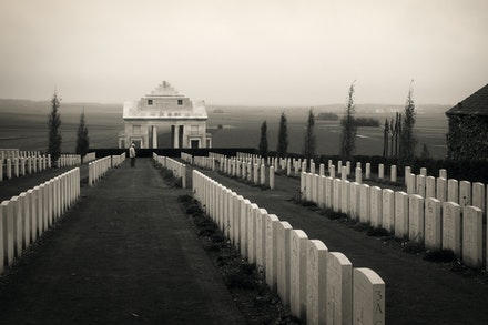 205 - Villers - 091116-2117-Edit - Taken on 09 November on a wet, cold miserable day, I could not imagine what it was like to be involved in combat in...