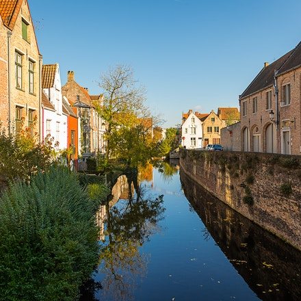 2016 Bruges - Bruges, the capital of West Flanders in northwest Belgium, is distinguished by its canals, cobbled streets and medieval buildings. Its port,...
