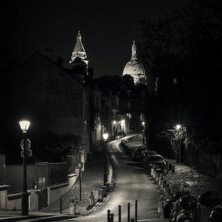 2016 Black and White Paris - My take on Paris in monochrome (black and white)