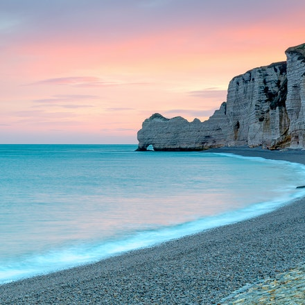 2017 - Etretat - Normandy - Étretat is a commune in the Seine-Maritime department in Normandie region in north-western France. It is a tourist and farming...