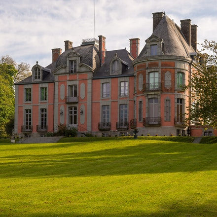 2017 Normandy - Château de Chantore - This castle of the eighteenth century located in the heart of a vast romantic park planted with trees , offers a...