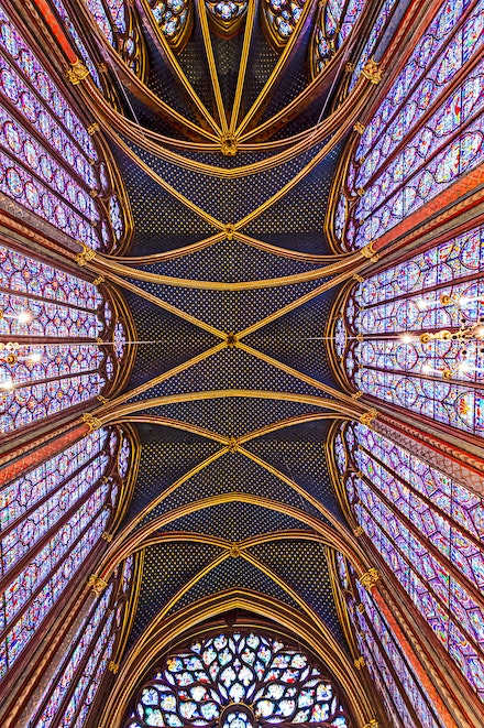 024 - Paris - 1st - 250117-5975-Edit - Sainte Chapelle, Feb 2017