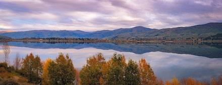 071 - Lake Dunstan - 1105018-0270-Pano-Edit - This  image is made up of 16 shots using a 50mm lens