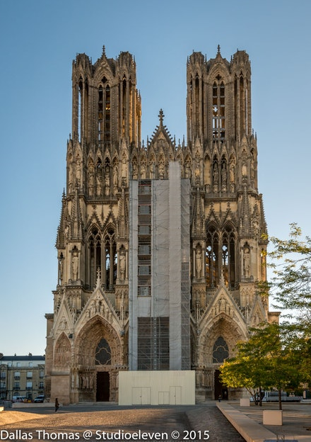 Reims Cathedral - 0997