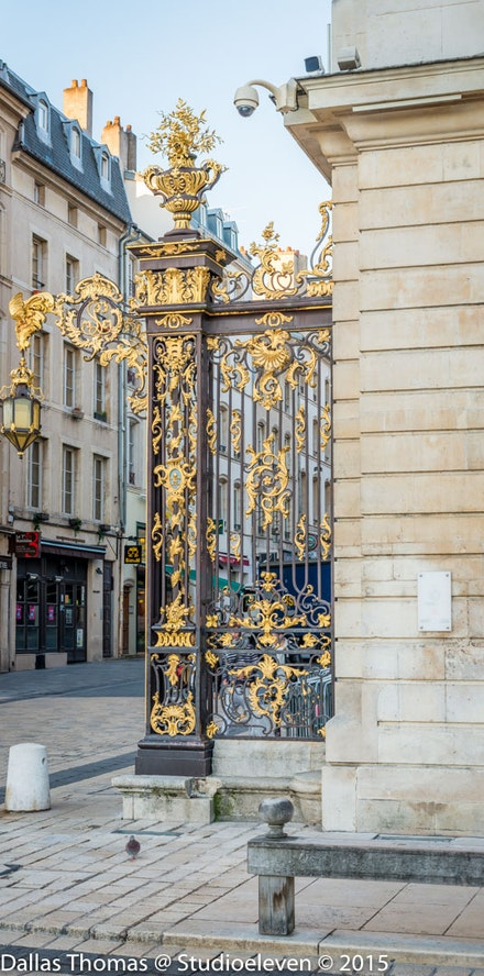 More ornate gates - 1078