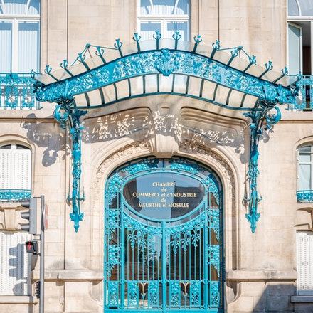 One of the many Art Nouveau building in Nancy - 1132