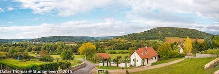 Panorama from Villars-Fontaine - 1233