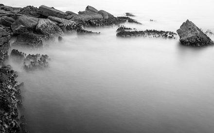 040 Bare Island Sunrise 100516-8163 - Long exposure taken just after sunrise.