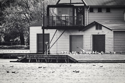 Boat House by The Lake