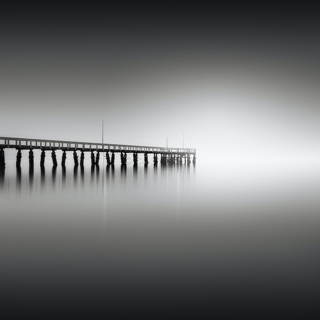 The light - Fog over the bay doesn't happen often, but when it does it creates some beautiful conditions for photography.