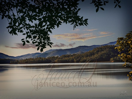 Afternoon Shadows - Cormorant Bay at Lake Wivenhoe, Esk SE Queensland. The Wivenhoe Dam is the main water supply for the city of Brisbane. Originally built...