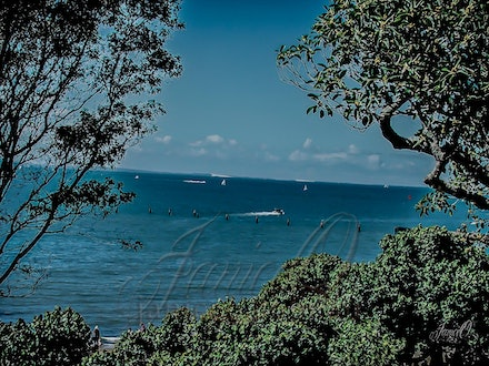 Going Out - Standing on the rise overlooking Shorncliffe.