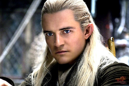 Legolas - Her elf from The Lord of the Rings trilogy and the Hobbit Trilogy.