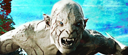 The Pale Orc - Super baddie from the trilogy The Hobbit.