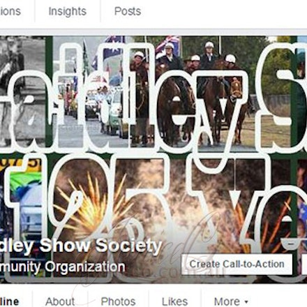 Laidley Show Society Facebook Cover Image - Laidley Show Society are celebrating their 125th Annual show this year and to let everyone know, JaniceO designed...