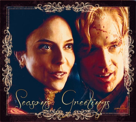 Spike and Drusilla - BTVS's blood thirsty couple who tore up season two.