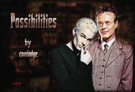 BTVS Ensemble - Fan art featuring the characters of Buffy the Vampire Slayer.