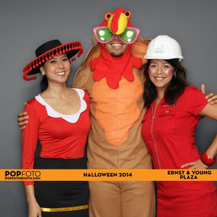 Ernst & Young Plaza Halloween 2014