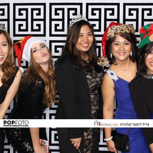 Intra Care Home Health Holiday Party