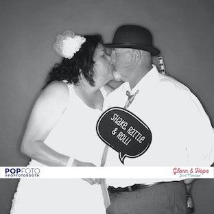 Glenn & Hope - 50's Wedding
