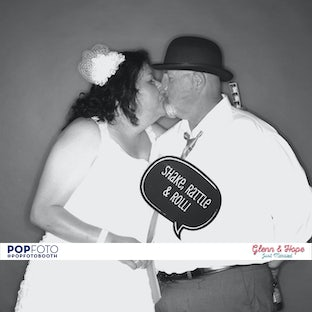 Glenn & Hope - 50's Wedding