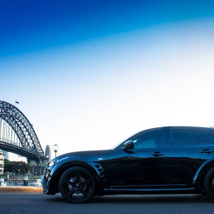 Renegade Bodykits Infiniti QX70 S - I recently had the please of shooting Australias first Infiniti QX70 S with a Renegade V2 bodykit