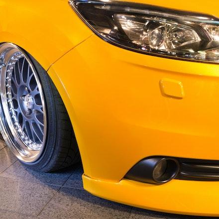Chris 005 - Tangerine Scream Ford Focus ST lurking the streets of Sydney