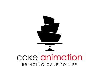 Cake Animation logo screenres