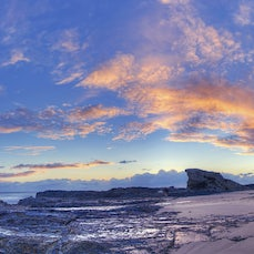 Currumbin Sunrise - Sunrise at Currumbin Beach, Gold Coast, Queensland