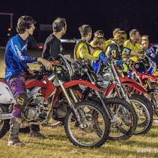 NANANGO SHOW - 2016 - Motor Bike Barrel Races and Farmer's Challenge at night time