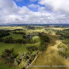 GLEN INNES TRAINING RIDE - DRONE PHOTOS - CANVAS & ACRYLIC GLASS AND METAL PRINTS AVAILABLE. PRICES, SIZES & DETAILS AVAILABLE.