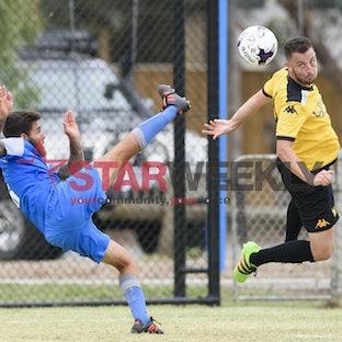FFA Cup, round 1, Sunbury United vs Spring Hills - FFA Cup, round 1, Sunbury United vs Spring Hills. Pictures Shawn Smits