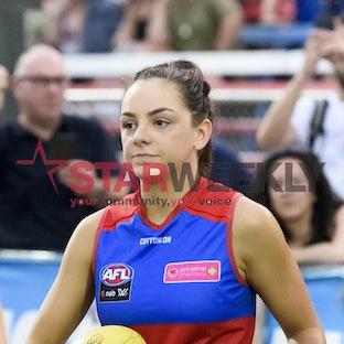 AFLW, Western Bulldogs vs Melbourne - AFLW, Western Bulldogs vs Melbourne. Picture Shawn Smits