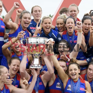AFLW Grand Final, Western Bulldogs vs Brisbane Lions - AFLW Grand Final, Western Bulldogs vs Brisbane Lions. Pictures Shawn Smits