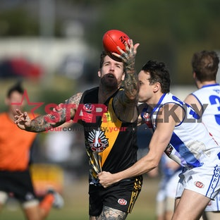 EDFL, division 1, Anzac Day Westmeadows vs Oak Park - EDFL, division 1, Anzac Day Westmeadows vs Oak Park. Pictures Damian Visentini