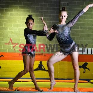 acrobatics gymnastics - acrobatics gymnastics . Pictures Damjan Janevski