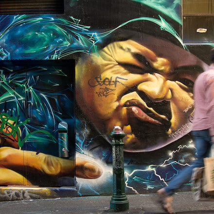 Hosier Lane Hipster, Melbourne