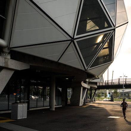 AAMI Park Late Afternoon
