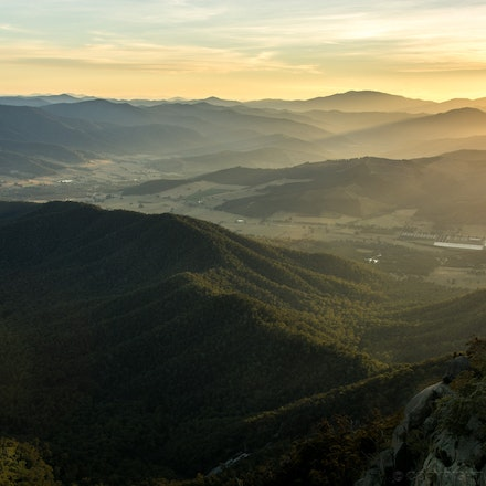Mount Buffalo View at Dawn - The view at dawn, Mount Buffalo Victoria. Photography by Cameron Hart of CDH Photography