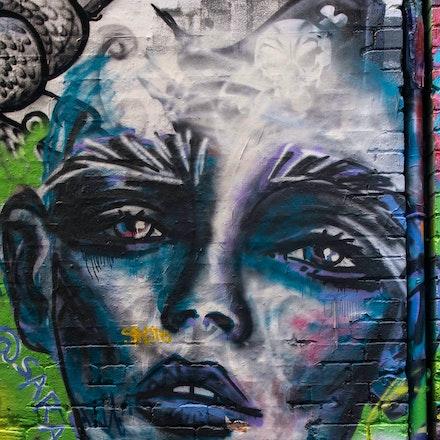 Hosier Lane Portrait