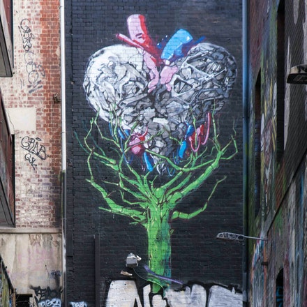 Street Art off Hosier Lane