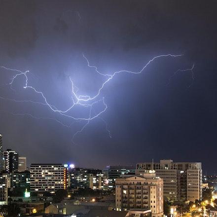 Stormy South Melbourne Sky