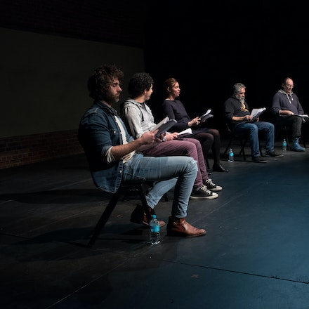 National Play Festival - King of Pigs - A reading from the King of Pigs play at the National Play Festival at the Malthouse Theatre Melbourne, July 2016