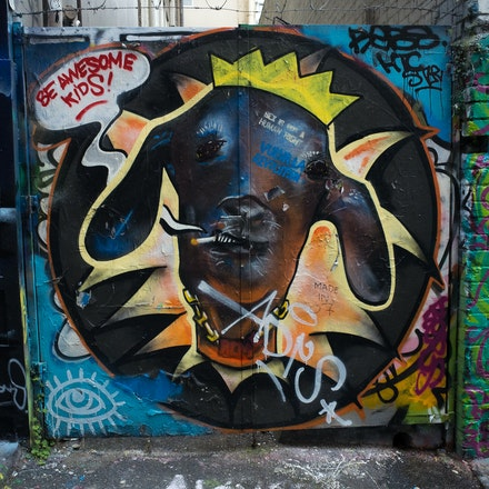 Hosier Lane - Be Awesome Kids