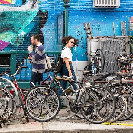NYC - Williamsburg - The Williamsburg neighbourhood of Brooklyn