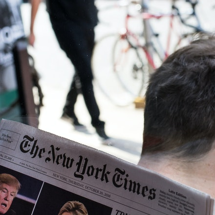 NYC - New York Times - The New York Times reporting the news of the day.  Who would have thought that Trump would actually win
